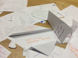 Participants recorded their reflections during the event. These are some of the results.